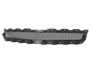Fits 2008 2012 Chevy Malibu Front Bumper Black Upper Grille New