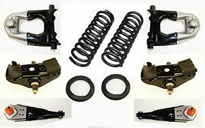 65 66 Mustang Deluxe Suspension Kit Upper Lower Control Arms Coil Spring Saddles