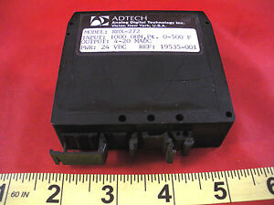 Adtech Rbx 272 Transmitter Two Wire Rtd Transmitter Rbx272 12 42vdc Used
