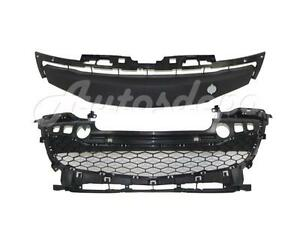 For 2012 2013 Mazda 3 Sedan Hatchback Front Bumper Lower Grille W O Fog Hole 2