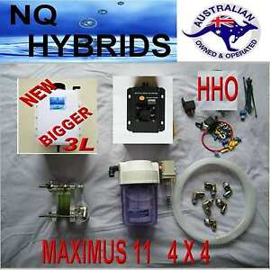 Hho Maximus 11 4 X 4 Hydrogen Generator 11 Plate Ideal For Mid Sized 4 X 4