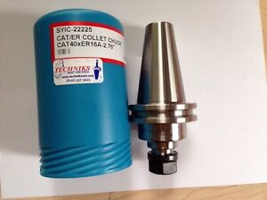 Techniks Cat 40 X Er16a 2 76 Collet Chuck Holder