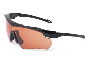 Ess Crossbow Suppressor Safety Glasses Black Frame Hd Copper Lens