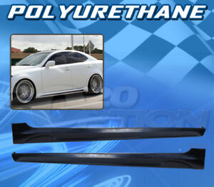 In S Style Polyurethane Pu Add On Side Skirt Body Kit For 06 13 Lexus Is250 350