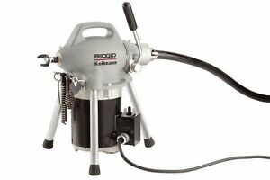 Ridgid K 50 8 Sectional 3 4 4 Cable Drain Cleaning Machine 59000