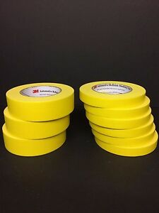 Scotch 3m Yellow Masking Tape 6652 6654 Bundle Pack
