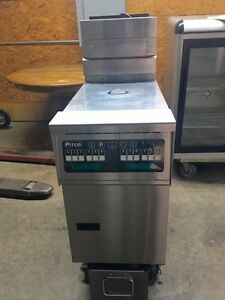 Pitco Electronic Gas Fryer Sg14ts With Filtration reduced