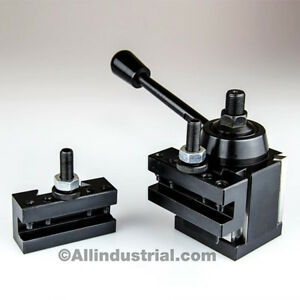 3 Pc Oxa Wedge Tool Post Intro Set For Mini hobby Lathes Quick Change Tooling