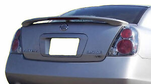Painted All Colors Spoiler For A Nissan Altima Factory Style Spoiler 2002 2006