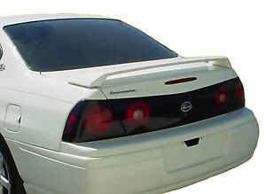 Painted All Colors Chevrolet Impala Factory Spoiler 2000 2005