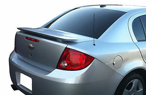 Painted All Colors Chevy Cobalt 4 door Factory Spoiler 2005 2010