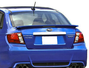 Painted Spoiler For A Subaru Impreza Factory Style 2008 2011