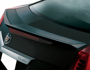 Unpainted Cadillac Cts Coupe 2 door Flush Mount Factory Style Spoiler 2011 2014