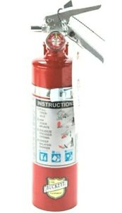 Buckeye 13315 2 5 Lb Abc Dry Chemical Portable Fire Extinguisher V b