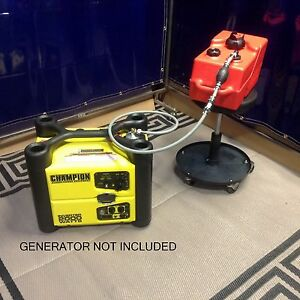 Champion 2000w Inverter Generator 3 Gallon Extend Run Fuel System