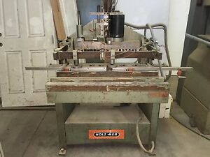 Holz Her Vertical Horizontal Boring Machines