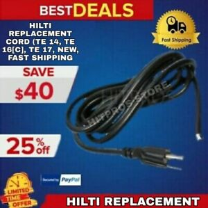 Hilti Replacement Cord te 14 Te 16 c Te 17 New Fast Shipping