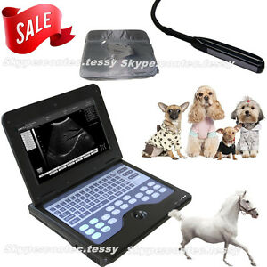 Veterinary Notebook Laptop Ultrasound Scanner Machine Rectal Probe 7 5m us Sell