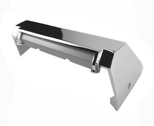 New 1966 Ford Mustang Console Chrome End Cap For Cars With Air Condition