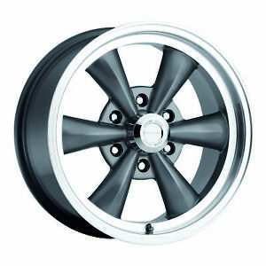17 Vision 141 Legend 6 Gunmetal Classic Wheel 17x8 6x5 5 19mm Chevy Gmc 6 Lug