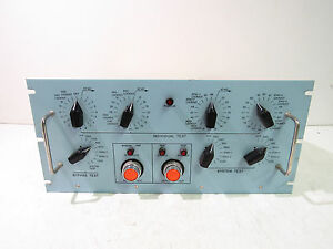 Electro Mechanical 37805 Test Equipment Module Assembly xlnt