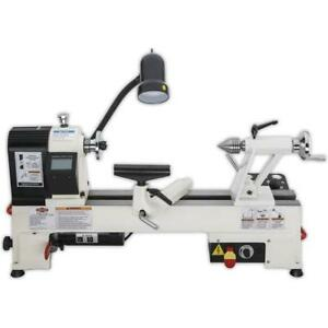 Shop Fox W1836 12 X 15 Benchtop Wood Lathe With Variable speed Spindle Control