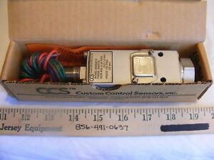 Ccs 6900ge12 Pressure Switch New In Box See Pictures