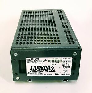 Lambda Lns w 15 15 5 Adjustable Regulated Power Supply Psu 3 8a 7 7a