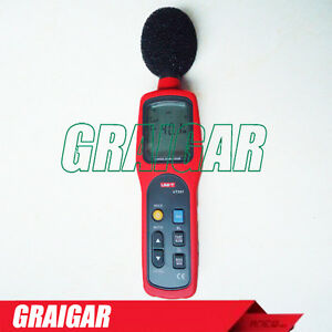 Uni t Ut351 Digital Sound Level Meter Db Decibel Meter Noise Tester 30 130db