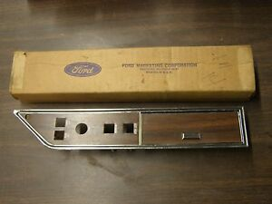 Nos Oem Ford 1973 1974 Thunderbird Door Trim Ash Tray Switch Panel