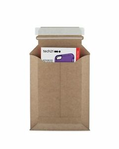 200 7 X 9 Stay Flat fit Kraft Expansion Mailer To 2 For Bulky Items