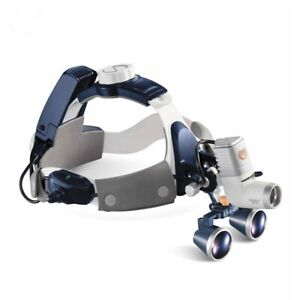 5w Led Surgical Head Light Medical All in one Headlight Lamp 2 5x Magnifier