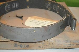 Nos Lined Replacement Brake Band Farmall M 58345