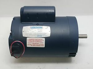 Leeson A6c34dc34c Electric Motor 1 5hp Phase 1 P n 5190020g2