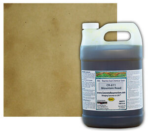 Professional Easy To Apply Concrete Acid Stain mountain Road 1 Gallon