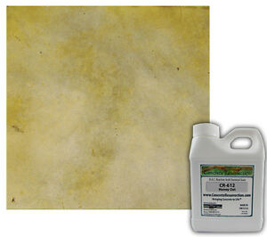 Professional Easy To Apply Concrete Acid Stain honey Oat 16oz