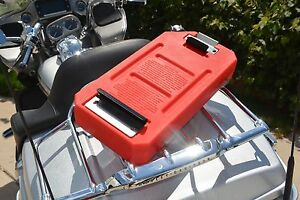 1 25 Gallon Gasflask Fuel Pack gas Container fuel Can Fits Harley Davidson Bikes