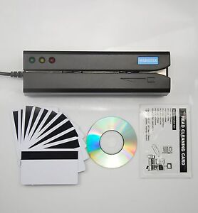 Magnetic Credit Card Reader Writer Encoder Msr605x Swipe Magstripe Msr605upgrade