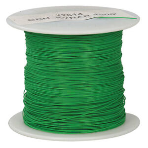Wire Wrap Kynar Green 1000 Feet 30awg 1000 Foot Rolls