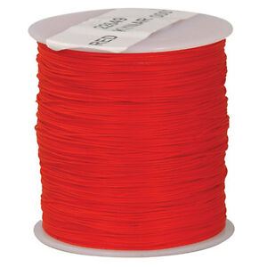Kynar Wire Wrap Wire Red 30 Awg Insulated Silver Plated Copper 1000 Ft Roll