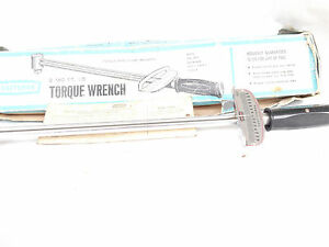 Craftsman Torque Wrench 0 150 Ft Lb