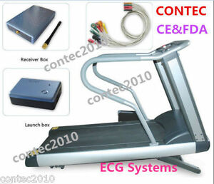 Contec8000s Cardiac Stress Exercise System Wireless Stress Ekg Ecg Workstation