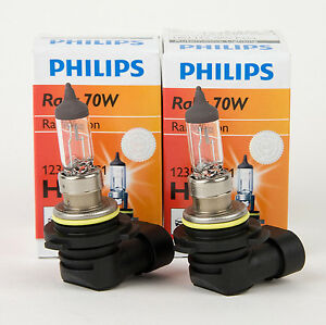 Philips 9006 Hb4 70w High Wattage Halogen Headlight Bulbs Made In Germany Qty 2