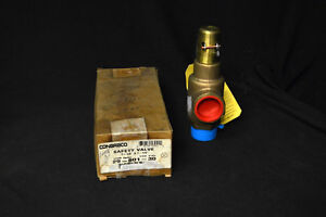 Conbraco 29 501 30 Size 1 1 4 Bronze Safety Relief Valve 125 Psi