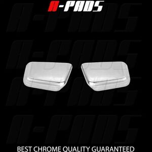 For 2007 2008 2009 2010 Ford Edge Top Stick On Mirror Chrome Covers