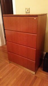 Modern Wooden 38 4 drawer File Cabinets quantity 4 Pickup In Hbg Pa Only