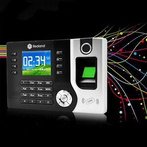 Realand 2 4 Biometric Fingerprint Time Attendance Machine Time Clock A c071 Oub
