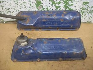 1971 Power By Ford 351c Engine Valve Cover Pickup 1969 1970 Rat Rod Mustang L