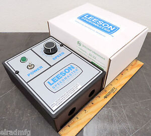 Leeson Electric 174307 00 Dc Drive Speed Controller 115 230 Input 0 180 Vdc
