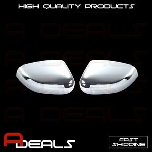 Chrome Cover Fit 2010 2011 2012 2013 2014 2015 Ford Taurus Top Mirror